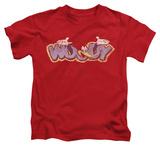 Juvenile: Woody Woodpecker - Sketchy Bird T-shirts