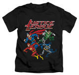 Juvenile: Justice League - Pixel League T-shirts