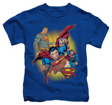 Juvenile: Superman - Superman Collage Shirt