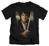 Juvenile: The Hobbit: An Unexpected Journey - Baggins Poster T-Shirt