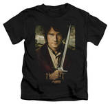 Youth: The Hobbit: An Unexpected Journey - Baggins Poster T-shirts