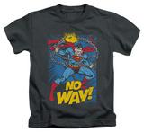 Juvenile: Superman - No Way T-shirts