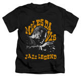 Youth: Miles Davis - Jazz Legend T-shirts