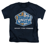 Juvenile: White Castle - Distressed Logo Shirt
