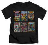 Juvenile: Justice League - JLA Covers T-Shirt
