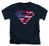 Youth: Superman - US Shield Shirts