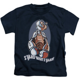 Juvenile: Popeye - I Yams T-shirts