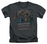 Juvenile: Justice League - Join The Justice League T-shirts