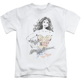 Juvenile: Justice League - Wonder Squiggles T-Shirt