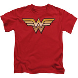 Juvenile: Wonder Woman - Golden T-shirts