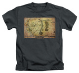 Juvenile: The Hobbit: An Unexpected Journey - Middle Earth Map T-shirts