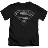 Juvenile: Superman - Barbed Wire T-shirts