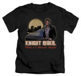 Juvenile: Knight Rider - Full Moon T-Shirt