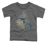 Toddler: Batman - Batgirl Biker Shirts