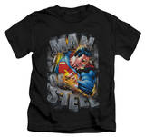 Juvenile: Superman - Ripping Steel T-Shirt