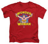 Youth: Wonder Woman - Flying Through T-Shirt