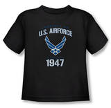 Toddler: Air Force - Property Of T-shirts