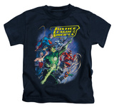 Juvenile: Justice League - Onward T-shirts