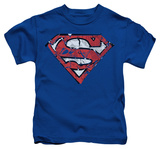Juvenile: Superman - Ripped And Shredded Shirts