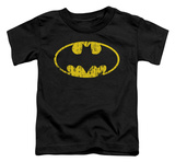 Toddler: Batman - Classic Logo Distressed T-Shirt