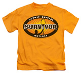 Youth: Survivor - Gold Burst T-Shirt