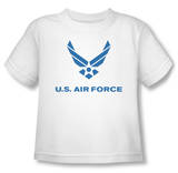 Toddler: Air Force - Distressed Logo T-Shirt