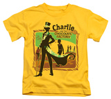 Juvenile: Charlie and the Chocolate Factory - Chocolate River T-shirts