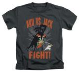 Juvenile: Samurai Jack - Jack Vs Aku T-shirts