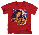 Juvenile: Wonder Woman - Pop Art Wonder T-shirts