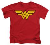 Juvenile: Wonder Woman - Wonder Woman Logo Dist Shirts