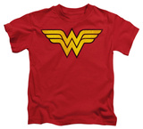 Youth: Wonder Woman - Wonder Woman Logo Dist Shirts
