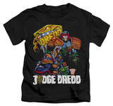 Youth: Judge Dredd - Bike And Badge Shirts