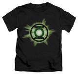 Juvenile: Green Lantern - Green Glow T-shirts