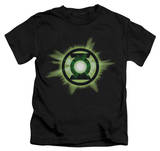 Youth: Green Lantern - Green Glow T-shirts