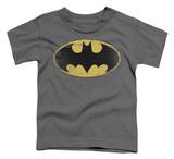 Toddler: Batman - Distressed Shield Shirts