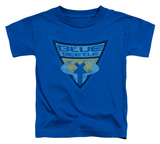Toddler: Batman The Brave and the Bold - Blue Beetle Shield T-Shirt