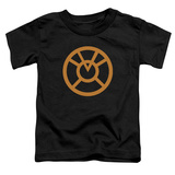 Toddler: Green Lantern - Orange Emblem Shirts