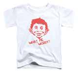 Toddler: Mad Magazine - What Me Worry T-shirts