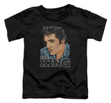 Toddler: Elvis Presley - Graphic King T-Shirt