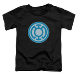 Toddler: Green Lantern - Blue Symbol T-shirts