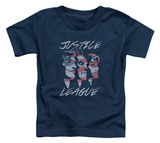 Toddler: Justice League - Justice For America Shirts