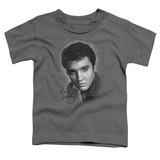 Toddler: Elvis Presley - Grey Portrait T-Shirt