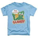 Toddler: Gumby - Fun & Flexible T-shirts