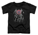 Toddler: Justice League - Shades Of Gray T-shirts
