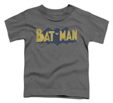 Toddler: Batman - Vintage Logo Splatter T-shirts