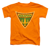 Toddler: Batman The Brave and the Bold - Aquaman Shield T-Shirt