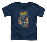 Toddler: Justice League - Star Group Shirt