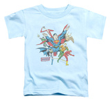 Toddler: Justice League - Lead The Charge Shirts