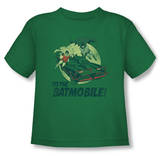 Toddler: Batman Classic TV - To The Batmobile Shirt