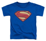 Toddler: Man Of Steel - New Solid Shield Shirt